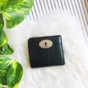 🌿 Fossil Black Leather Wallet 🌿